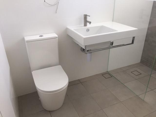 Bathroom Renovation At Elizabeth Bay CMF Plumbing And